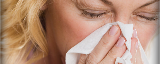 Runny Nose? Watery Eyes?