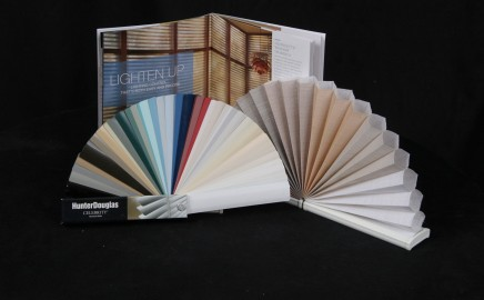 Aria On-Site sample books bring the best of Hunter Douglas to you!