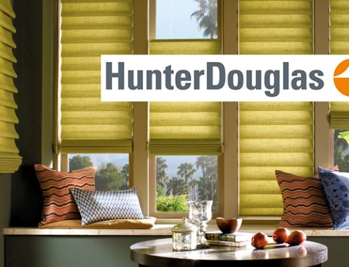 Why Hunter Douglas Window Treatments?