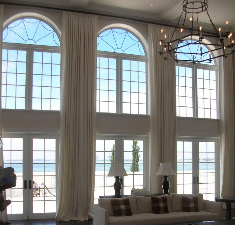 Window Treatment Ideas For Arched Windows Aria On Site