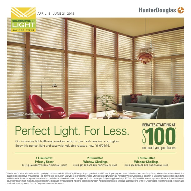 Hunter Douglas Celebration of Light Saving Event