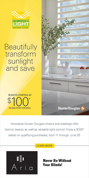 Hunter douglas Celebration of Light Info