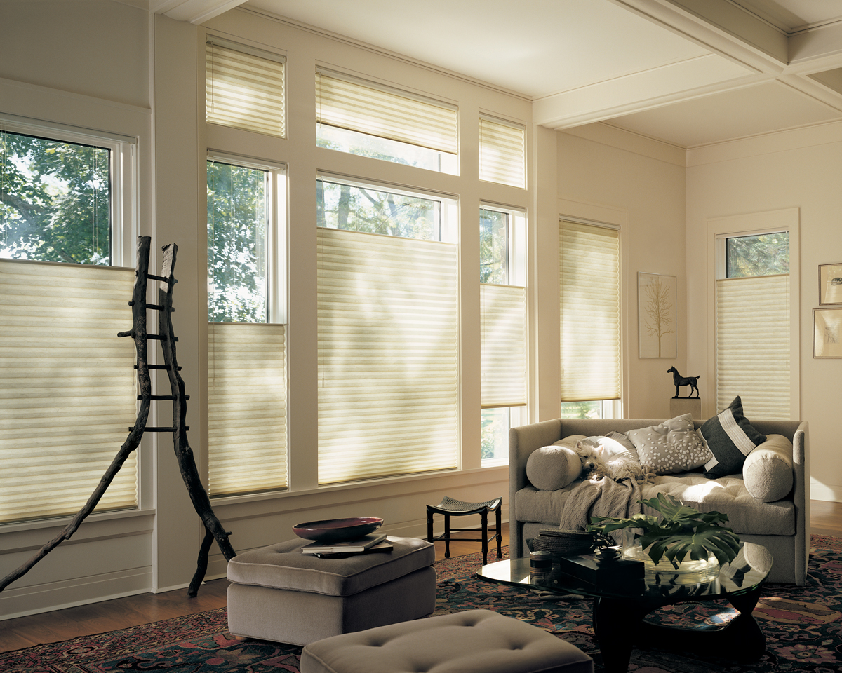 Hunter Douglas Ultraglide Window Blinds available through Aria On-Site